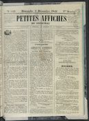 Petites Affiches De Courtrai 1841-12-05