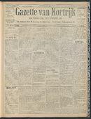 Gazette Van Kortrijk 1909-03-07