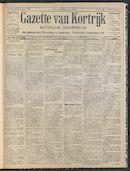 Gazette Van Kortrijk 1908-12-20