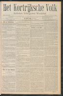 Het Kortrijksche Volk 1910-02-13