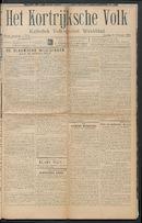 Het Kortrijksche Volk 1914-02-08
