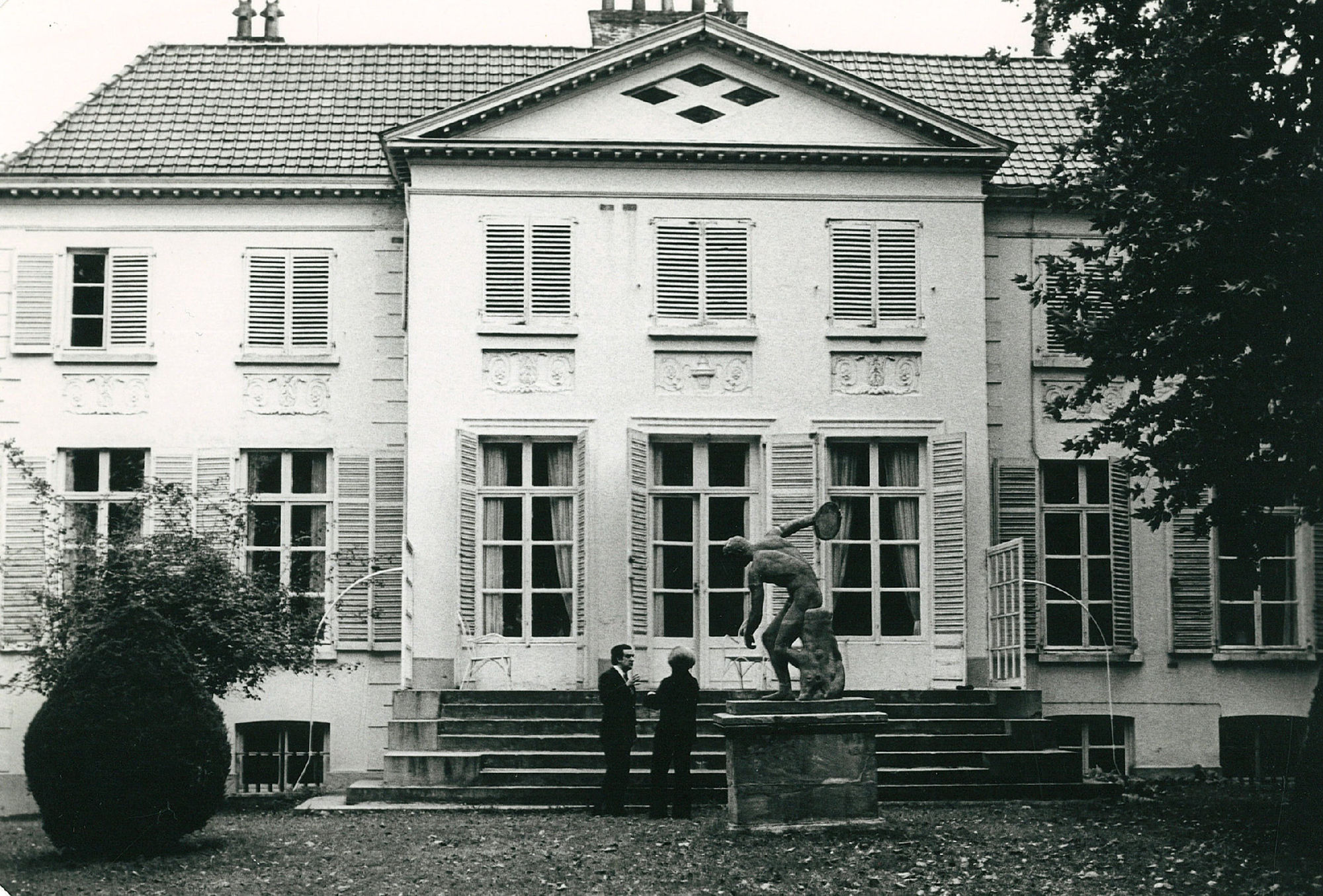 Villa van A. Samain in de Wolvendreef