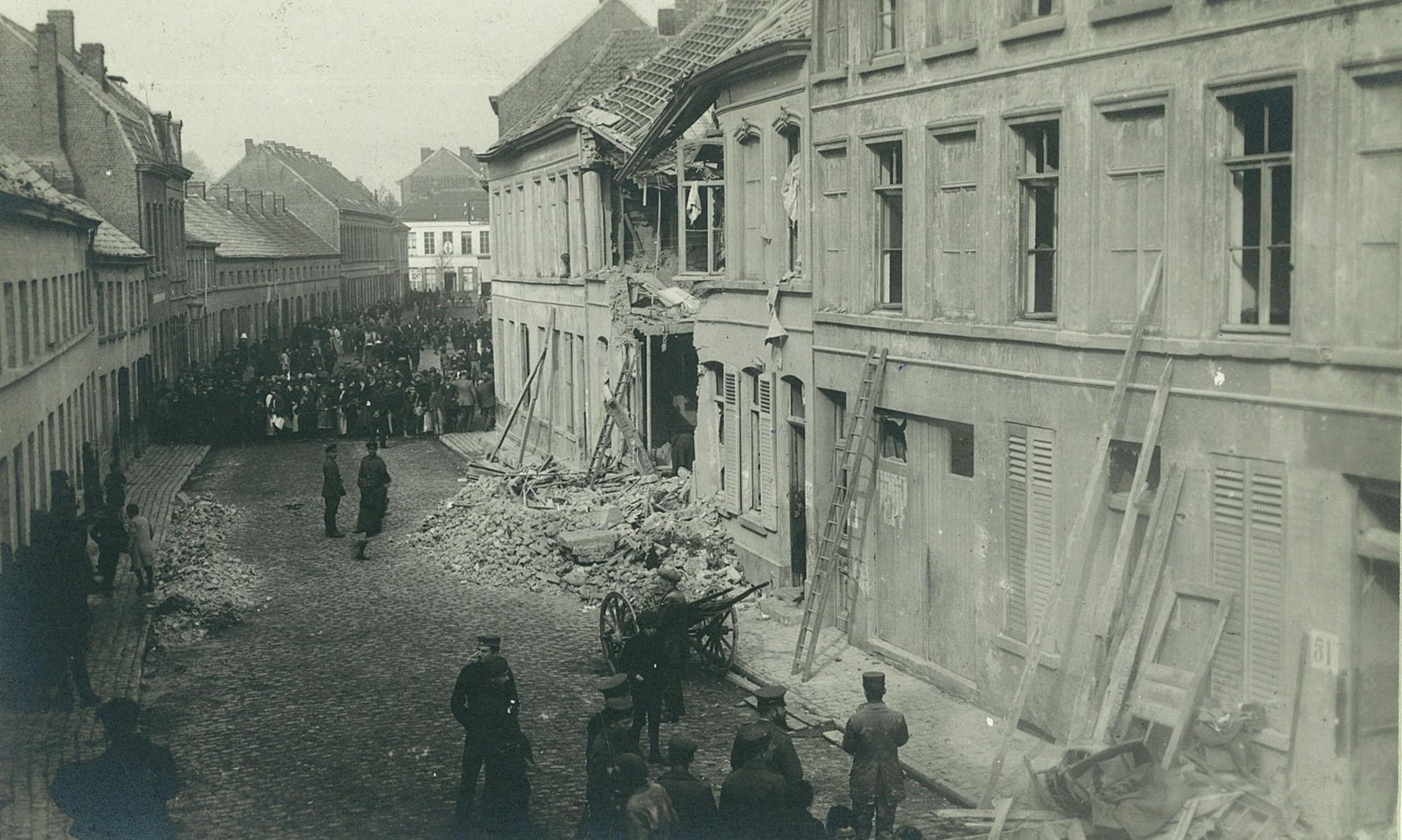 Pluimstraat in 1918