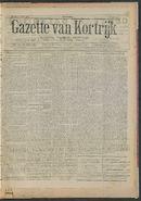 Gazette Van Kortrijk 1917-04-21