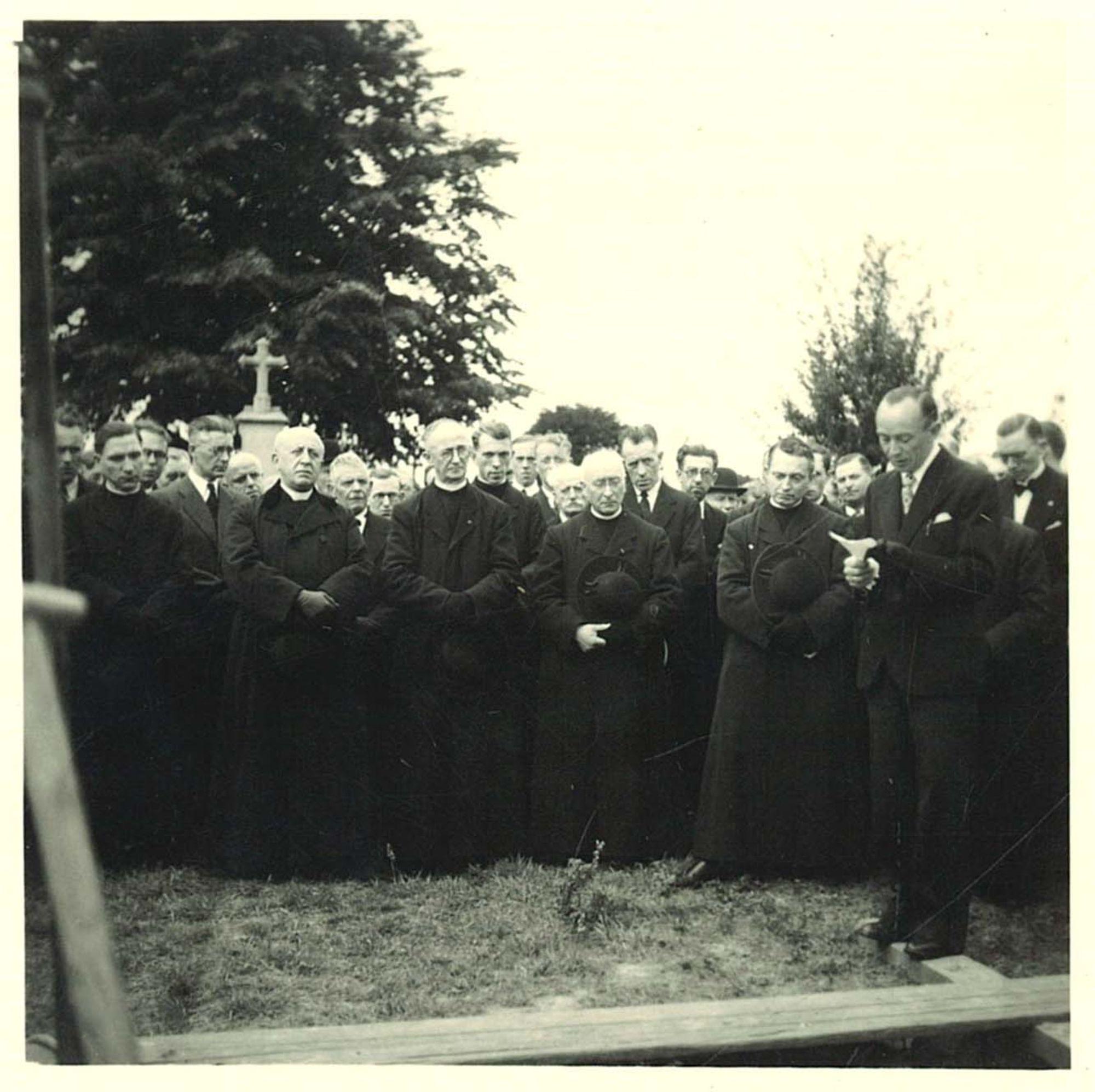 Begrafenis br. Daniël Viaene van de Broederschool Overleie