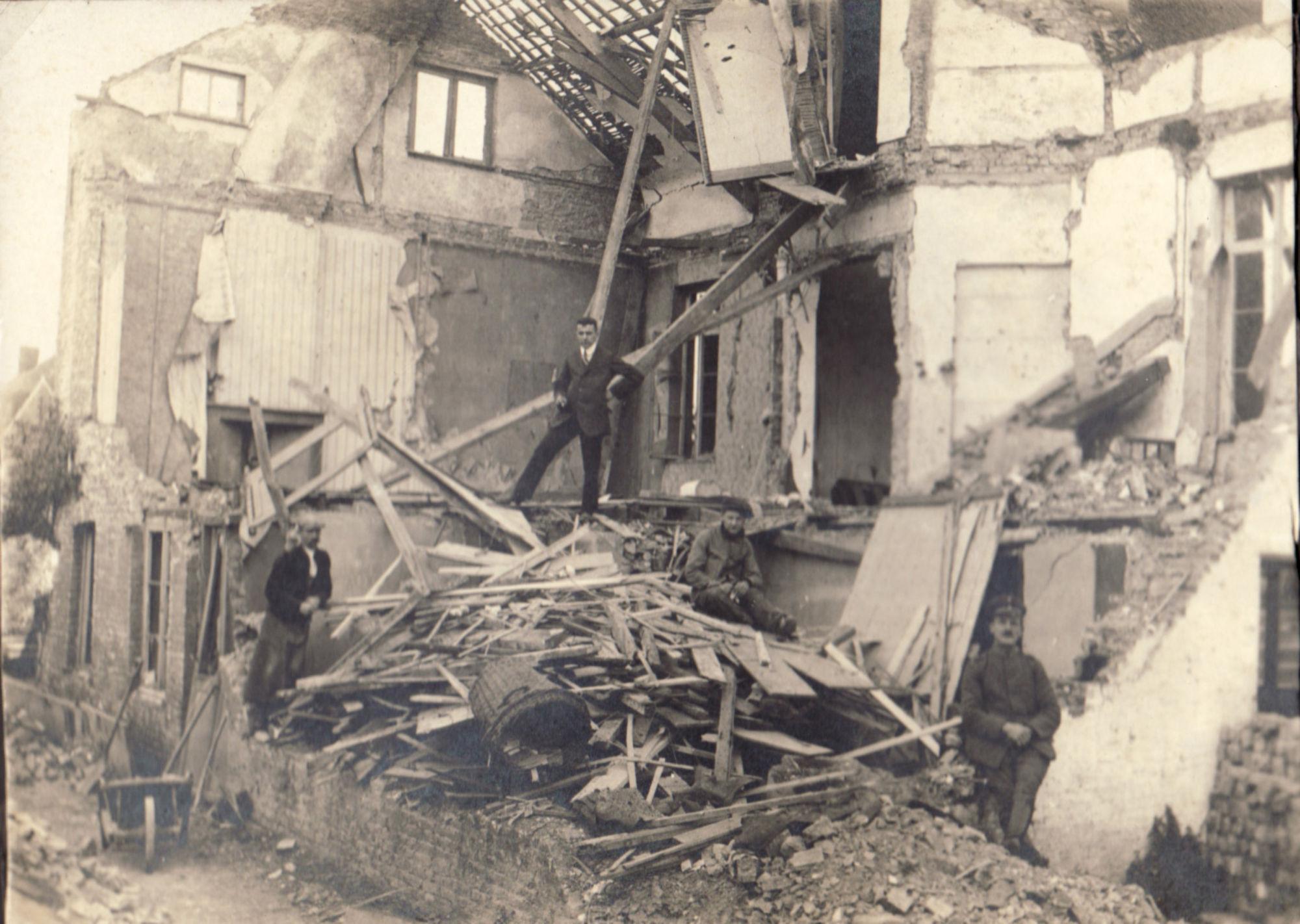 Marksesteenweg in 1918