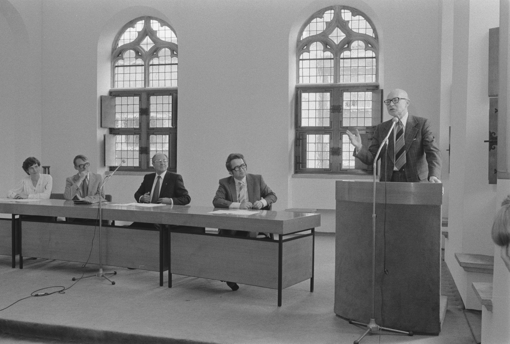 Uitreiking André Demedtsprijs 1980