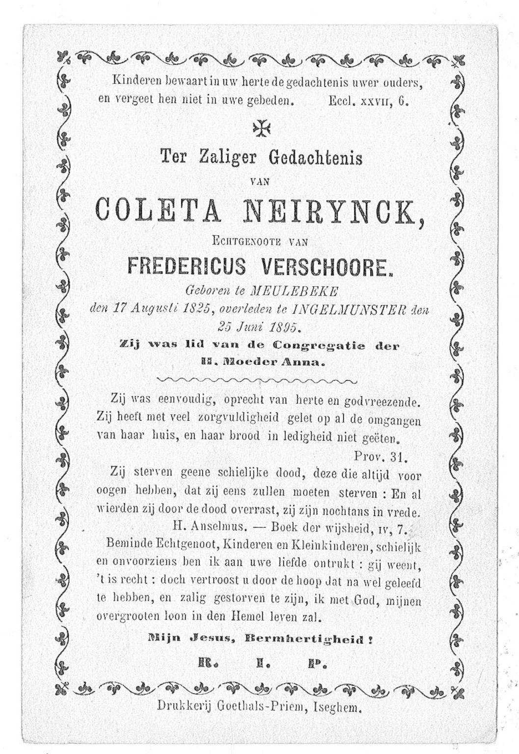 Coleta Neirynck