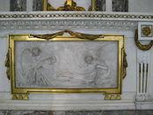 Marmeren basreliëf van Pieter van Reable