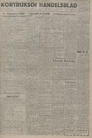 Kortrijksch Handelsblad 26 mei 1945 Nr42 p1
