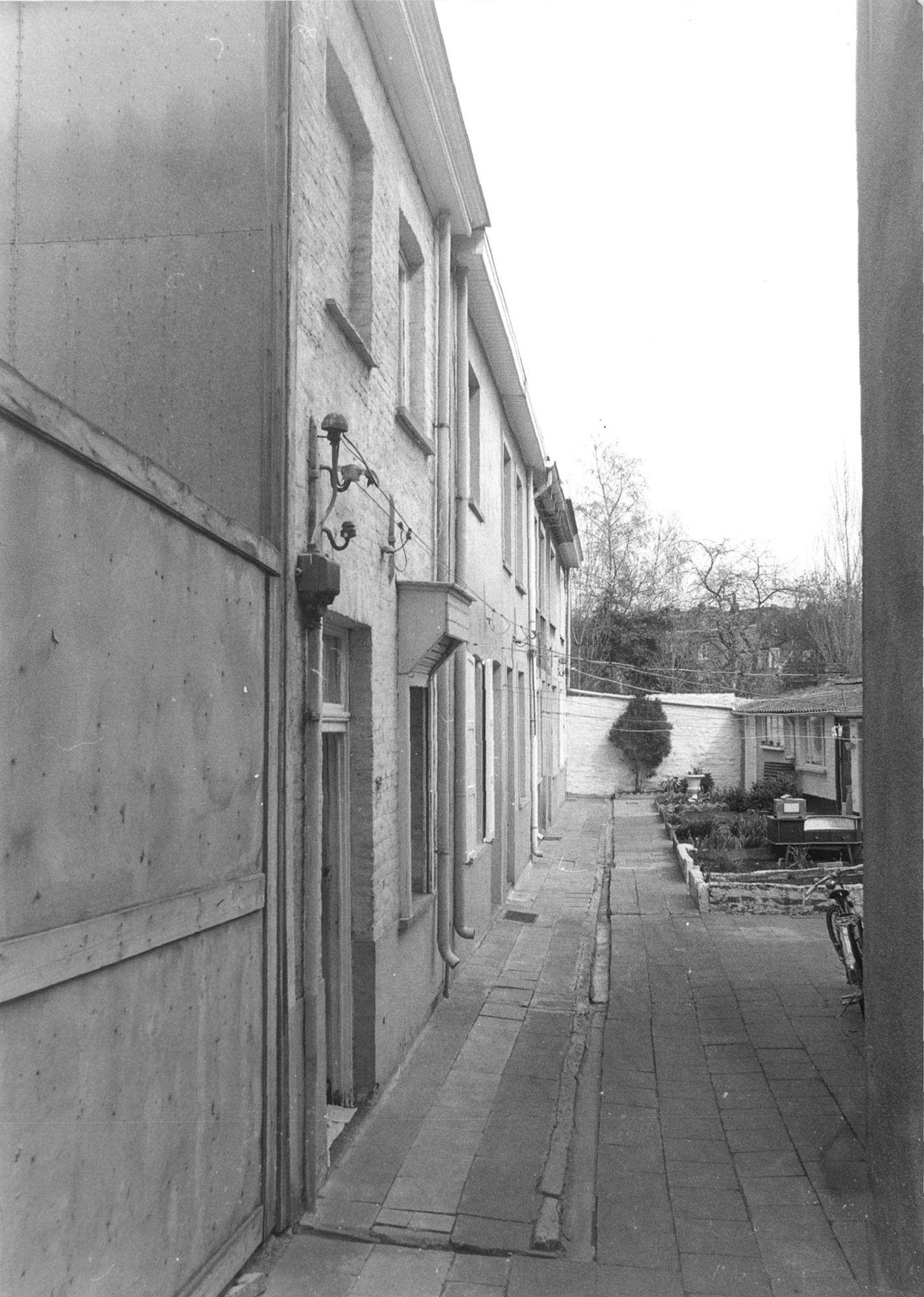 Beluik in de Doorniksewijk 1981