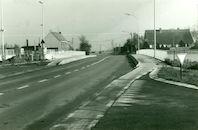 Brug over de sluis in Bossuit 1981