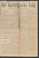Het Kortrijksche Volk 1907-01-20
