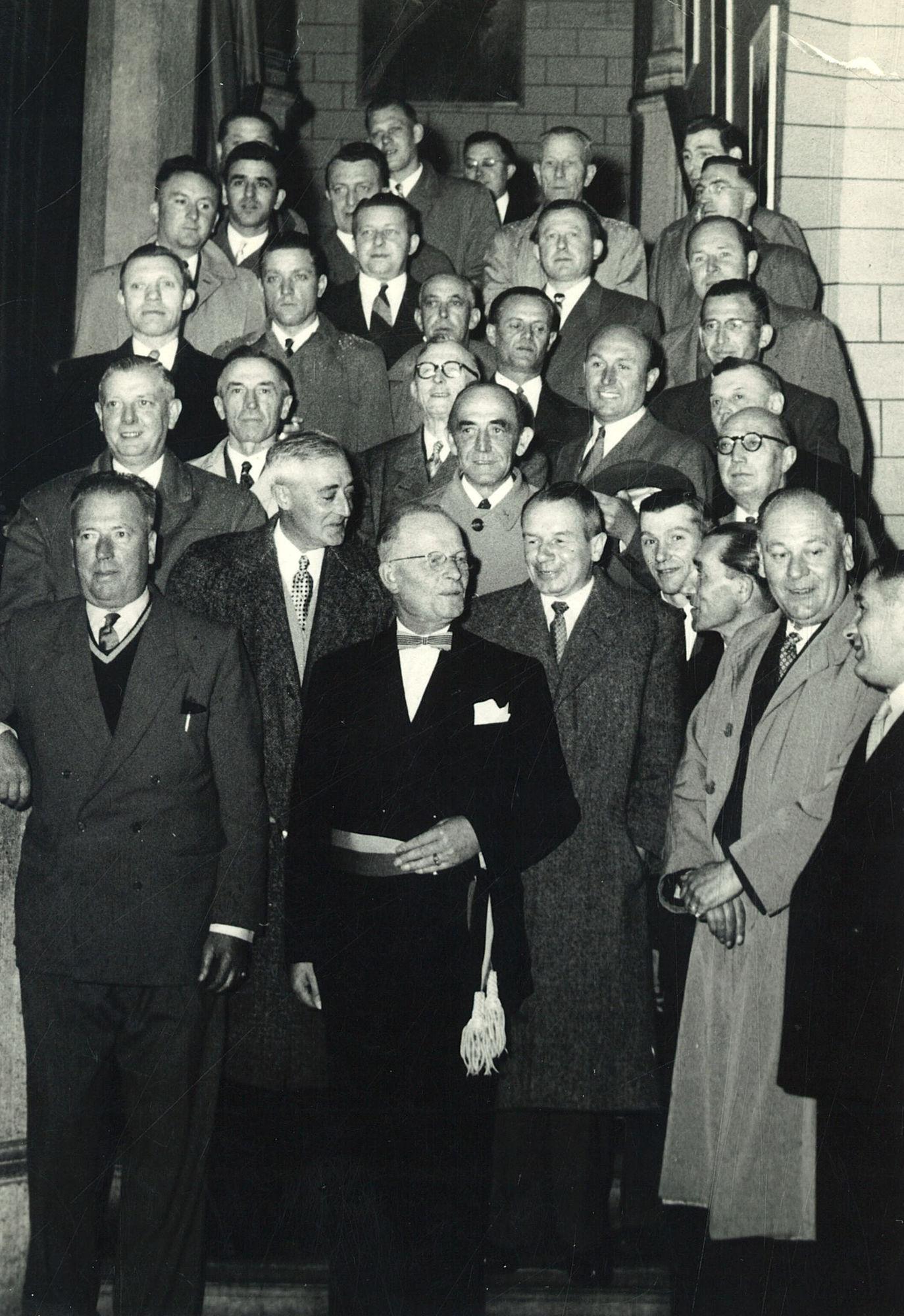 Burgemeester Jules Coussens