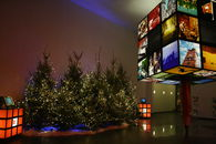 Kerstsfeer in het Streekbezoekerscentrum