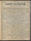 Gazette Van Kortrijk 1909-04-25