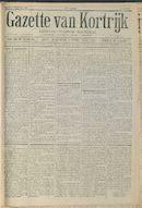 Gazette Van Kortrijk 1916-09-23