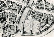 Openluchtblekerijen op het Buda-eiland ca. 1640