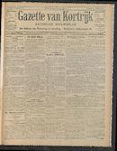 Gazette Van Kortrijk 1910-10-02