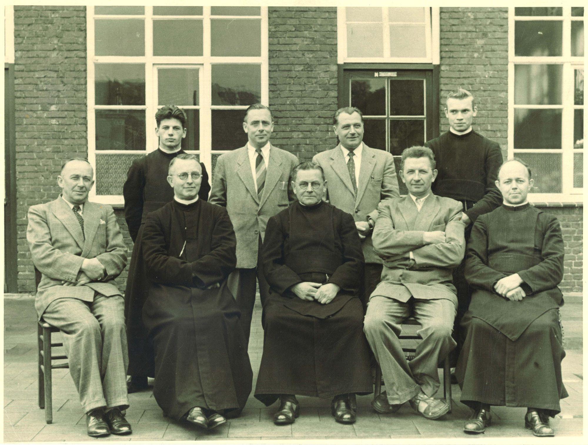Groepsfoto Broederschool Overleie