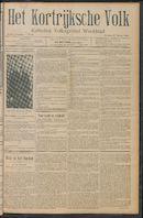 Het Kortrijksche Volk 1910-03-27