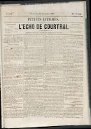 L'echo De Courtrai 1861-11-29