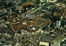 Luchtfoto van het centrum