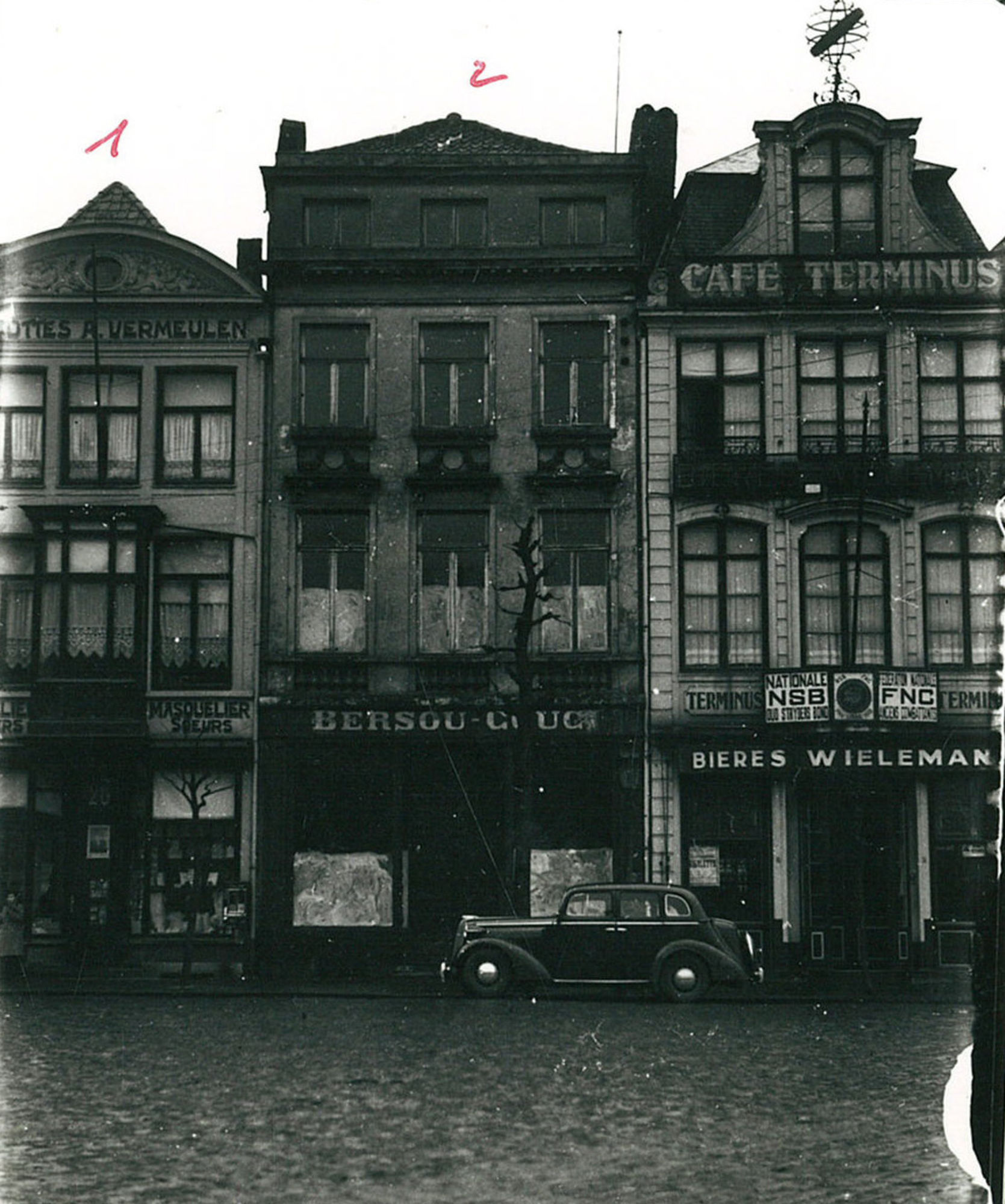 Café Terminus op de De Grote Markt