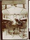 Verbruikerszaal Café Francais in het jaar 1921