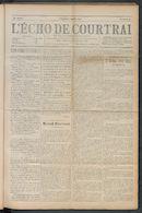 L'echo De Courtrai 1910-05-29