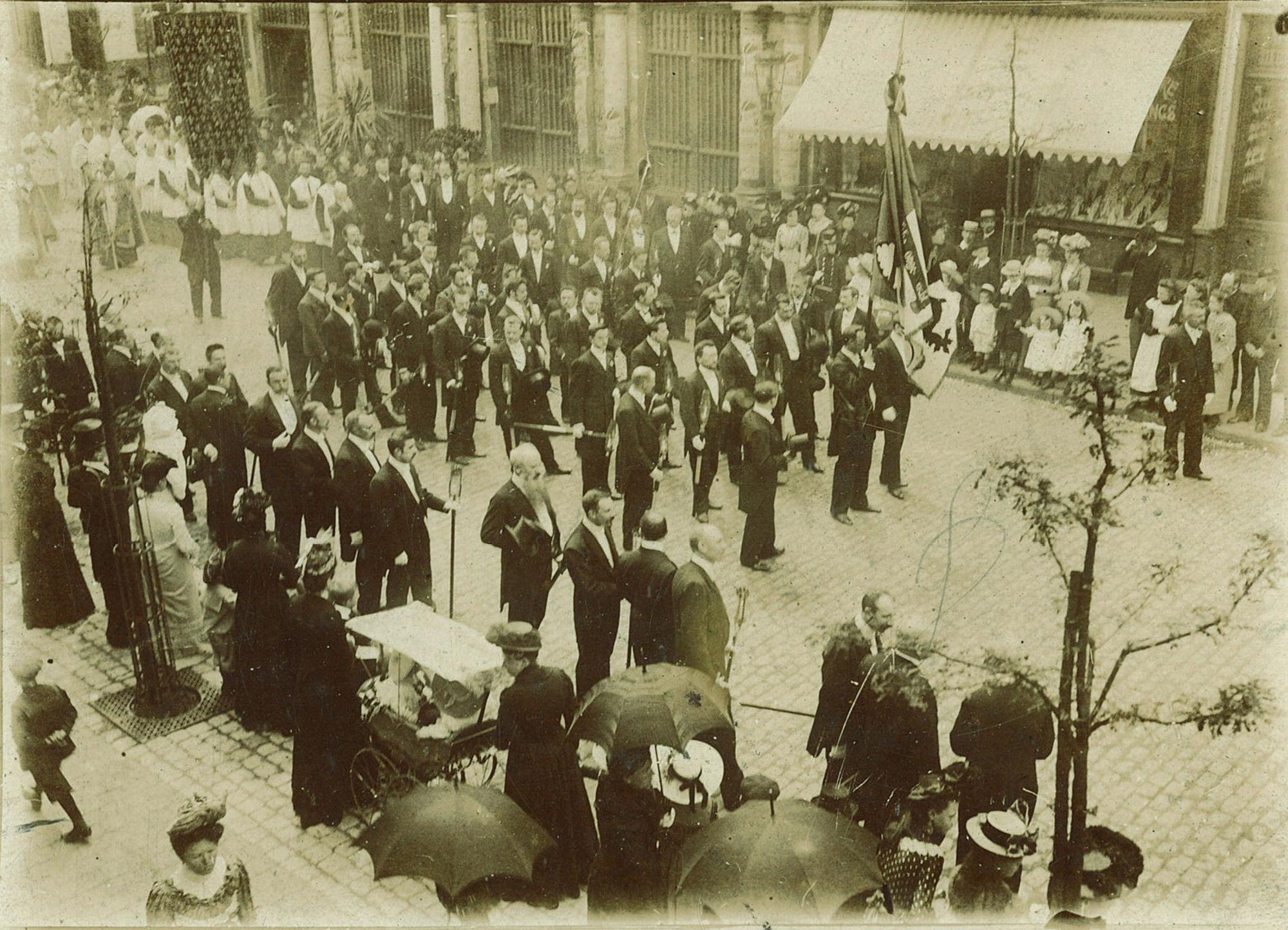 De Heilig Haar processie
