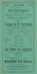 Paasfoor 1899: Blijspel