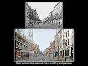 Rijselsestraat ca 1910 en 2017