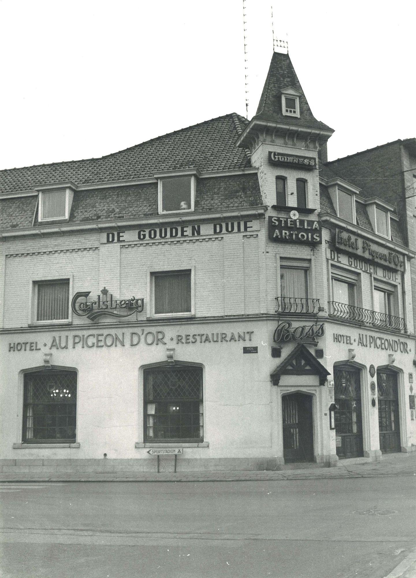 Hotel Au Pigeon D'Or in Waregem 1975