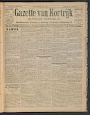 Gazette Van Kortrijk 1911-01-05
