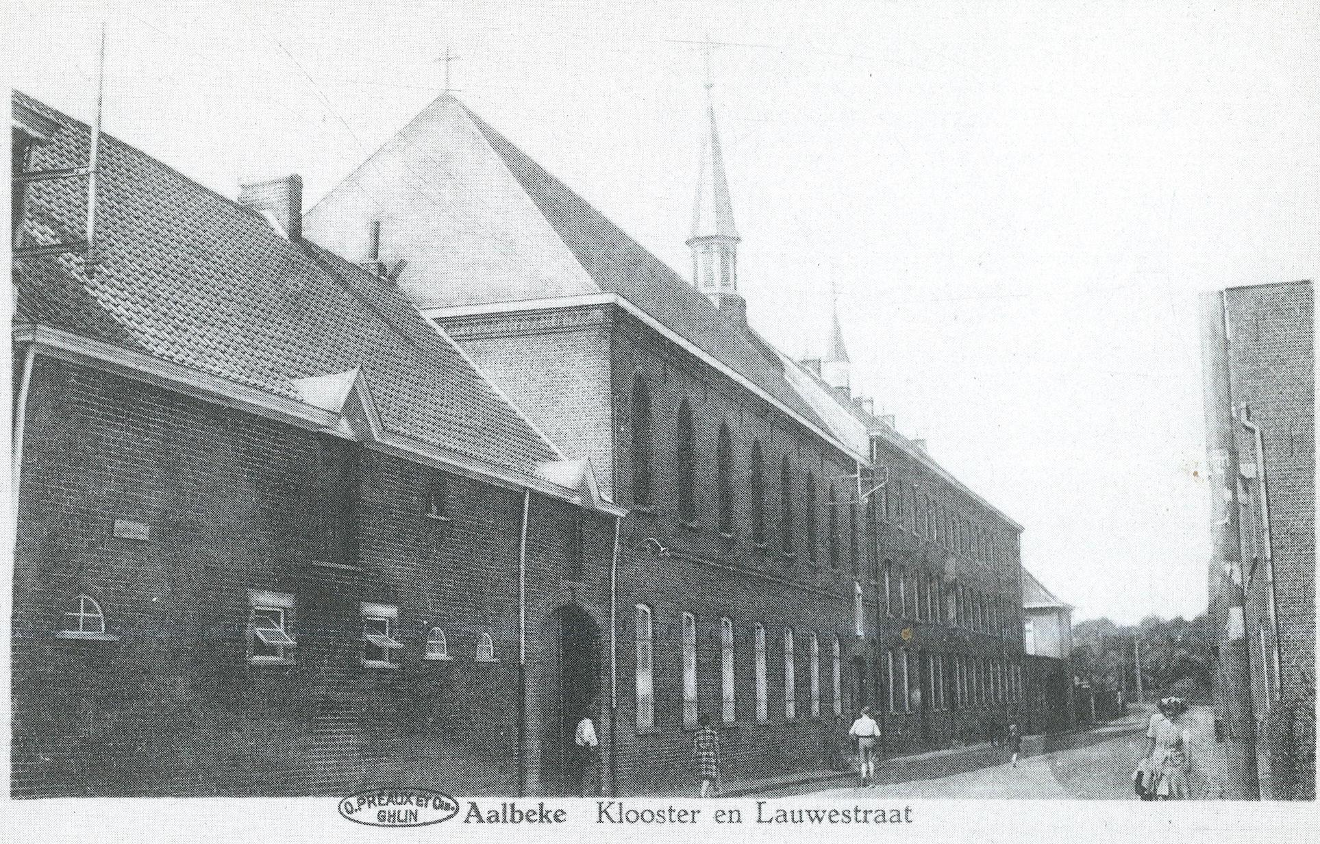 Klooster Saint-Joseph in Aalbeke waar Hugo Claus school liep