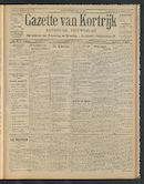 Gazette Van Kortrijk 1910-04-28