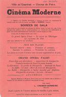 Paasfoor 1913: Cinema Moderne