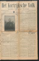 Het Kortrijksche Volk 1914-01-25 p1