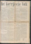Het Kortrijksche Volk 1907-08-11