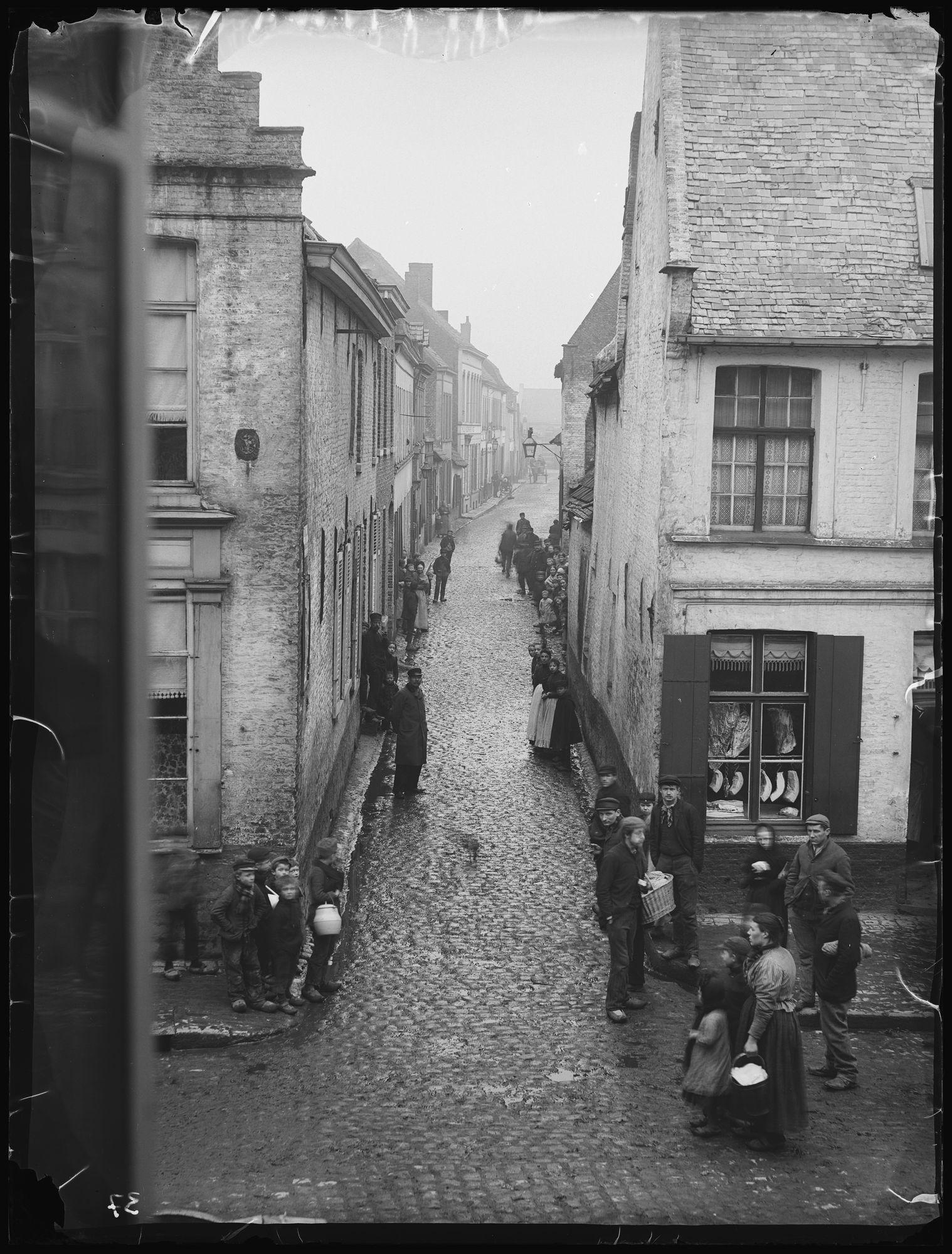 Kapelstraat in 1897