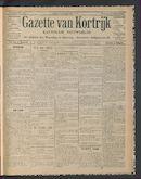 Gazette Van Kortrijk 1914-05-31