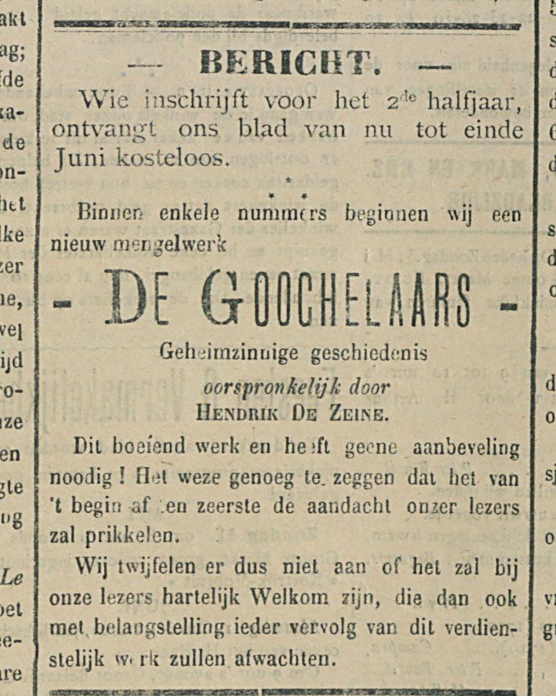 DE GOOCHELAARS