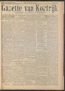 Gazette Van Kortrijk 1917-09-22