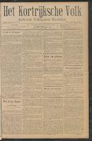 Het Kortrijksche Volk 1910-03-13 p1