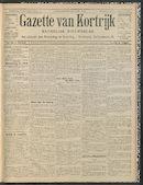 Gazette Van Kortrijk 1912-09-19