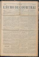 L'echo De Courtrai 1914-03-05 p1