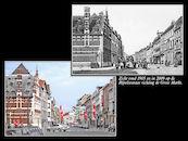 Rijselsestraat ca 1905 en 2009