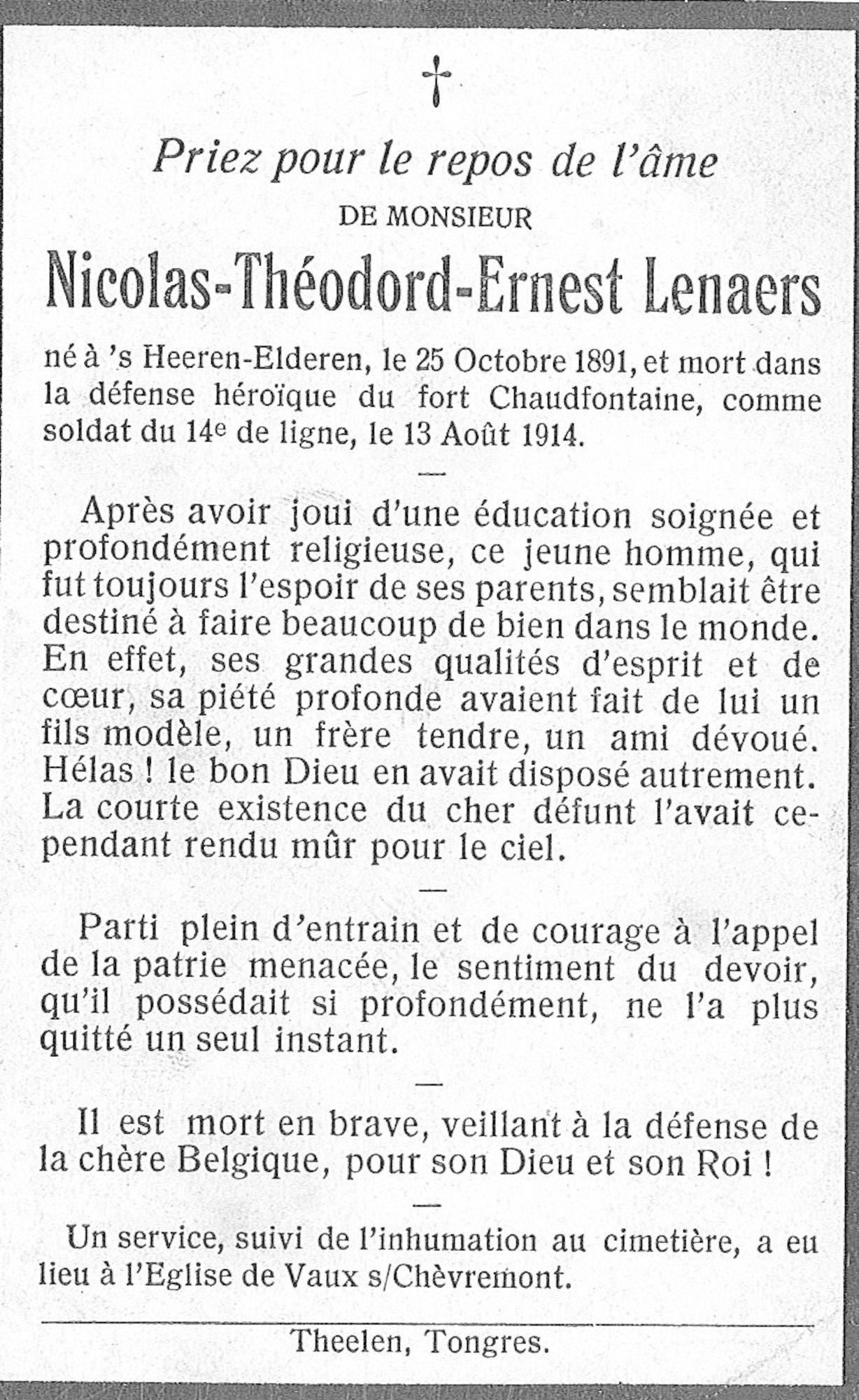 Nicolas-Théodord-Ernest Lenaers