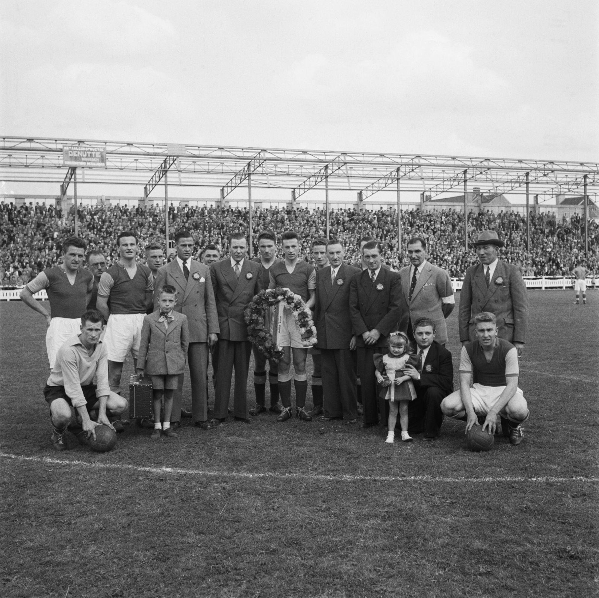 Hulde aan Eugeen Vanneste Kortrijk Sport 1952